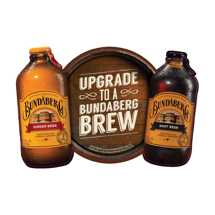Bundaberg Fridge Sticker Ginger Beer Amp Root Beer 5 Pack