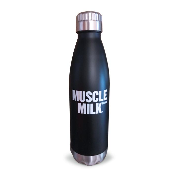 Stainless Steel Bottle Muscle Milk 174 Nsmshop
